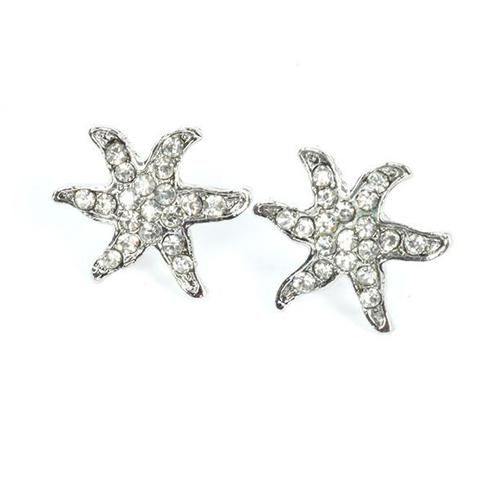 Find great deal on one pair of stunning crystal diamante starfish earrings at MyBoho UK. We guarantee excellent quality and free shipping in UK. #BohemianJewellery #BohoEarrings