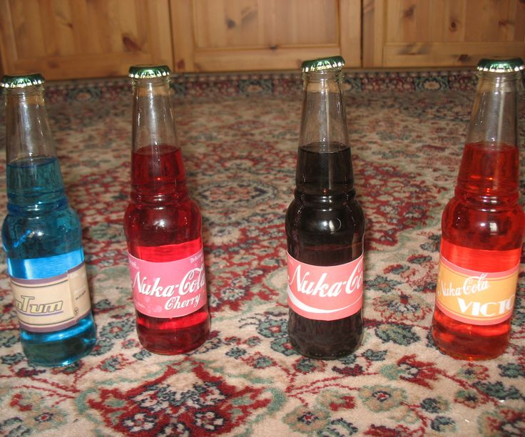 how to make nuka cola quantum drink