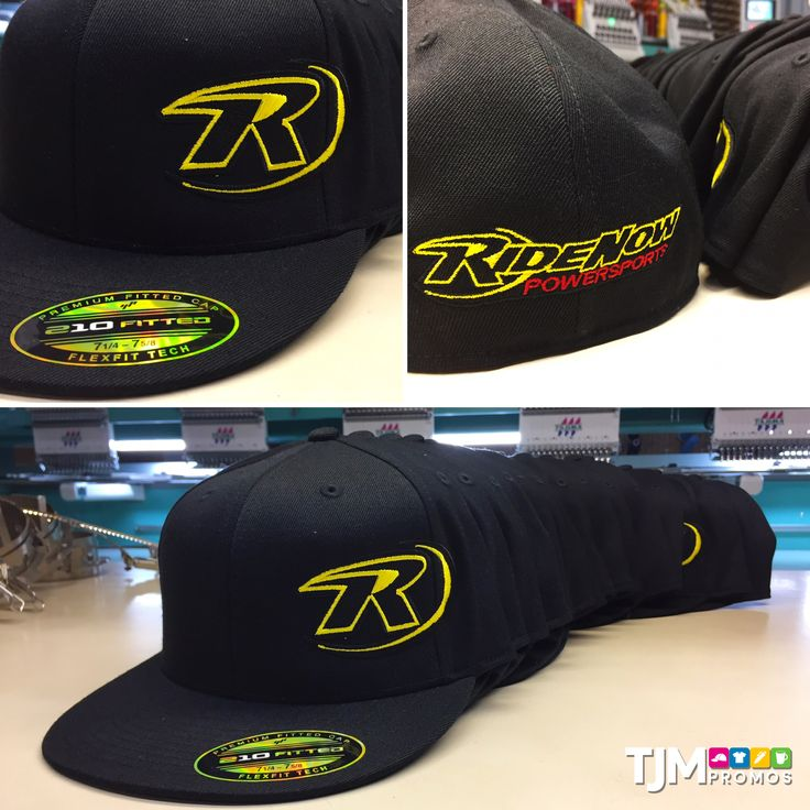 More custom embroidered hats for RideNow Powersports!