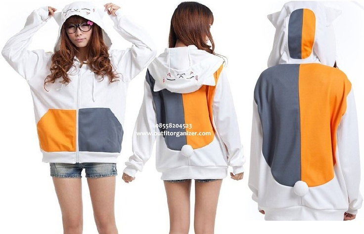Jacket Sweater Nyanko Sensei - IDR 140.000 | outfitorganizer.com 08558204523