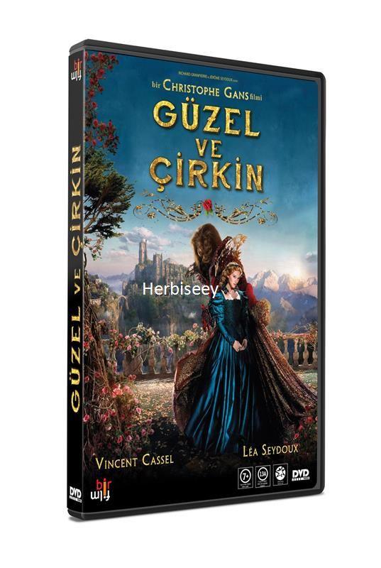 DVD GÜZEL VE ÇİRKİN - BEAUTY  AND THE BEAST 19,79 TL ( KDV Dahil )