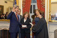 Simões-Ferreira married Henry John Heinz III, an heir to the H. J. Heinz Company. 1971, she became a naturalized citizen. 1990 she met Sen Kerry at an Earth Day rally. This was the only reported time they met before Sen Heinz died in an helicopter crash on April 4, 1991. 1992, they met again, at the Earth Summit in Rio de Janeiro, Brazil. She was a member of a State Dept delegation appointed by Pres George HWBush who then signed AGENDA 21.  read http://en.wikipedia.org/wiki/Teresa_Heinz