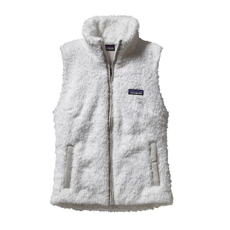 A versatile, extremely soft, deep-pile polyester fleece vest with sleek styling…