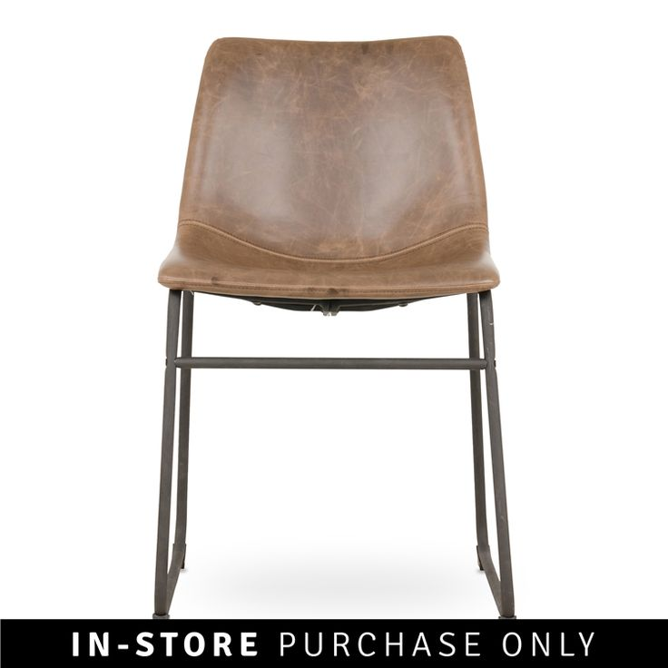 origin dining chair brown