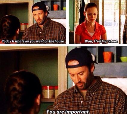 «You are important» Luke is so cute!