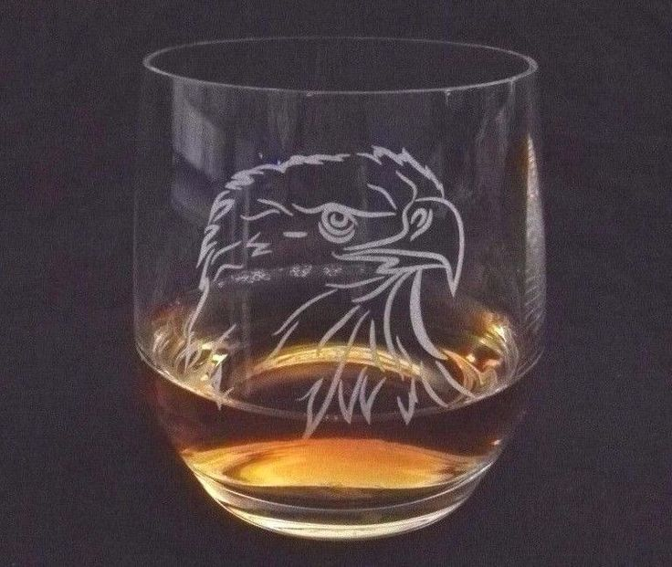 Engraved Whisky / Whiskey Glass Customized / Personalised For Dad, Grandpa 13Oz
