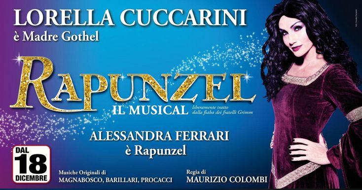 """"""" Rapunzel musical al Teatro degli Arcimboldi di Milano con Lorella Cuccarini """"  #teatro   Prenota la camera http://www.bedinmilano.com/it/"""