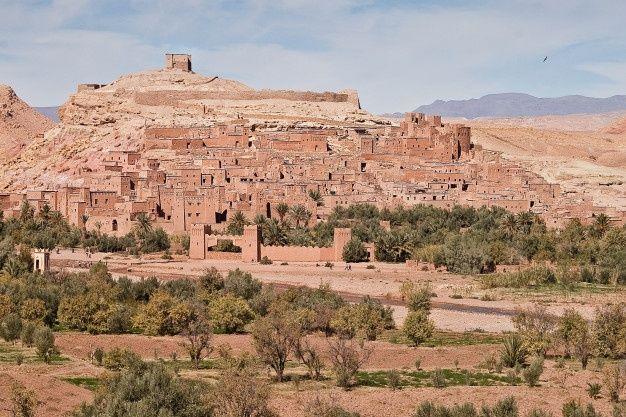 Paisajes Y Ciudades Marruecos Foto Premi Premium Photo Freepik Photo Ciudad Casa Castillo Islam Paisaje De Desierto Paisajes Marruecos