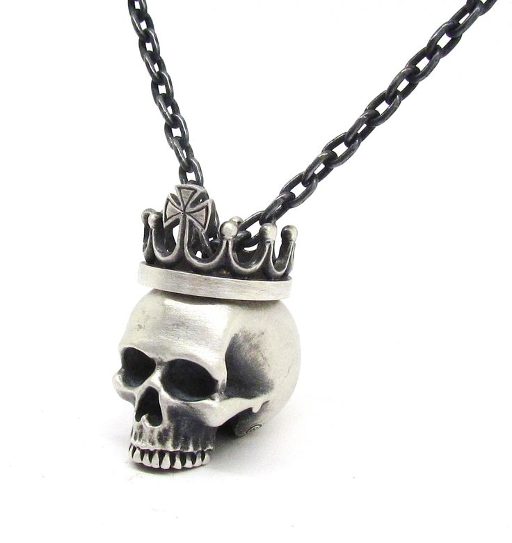 New 'KING' pendant from Sirkel Jewellery in sterling silver.