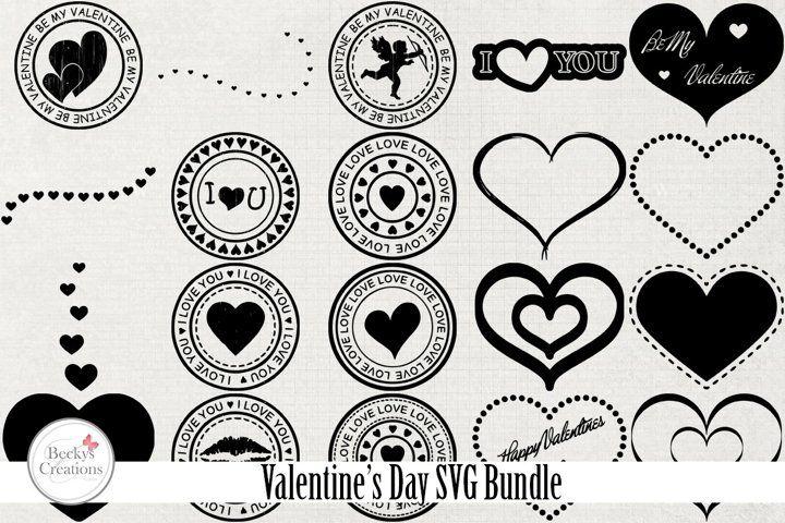 Download Valentine S Day Svg Bundle 474505 Other Design Bundles Download Valentines Design Bundles Valentine Tags