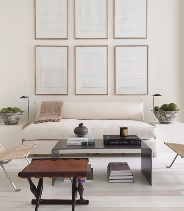 White Minimalistinterior Design: Such A Beautiful Cool Calm And Inviting Space. Love The