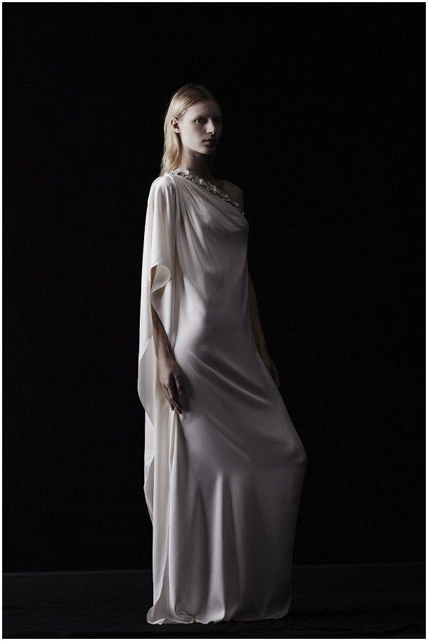 lanvin 2014, grecian style wedding dress