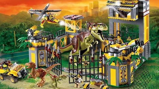 [Trailer] LEGO JURASSIC WORLD Game  (2015)