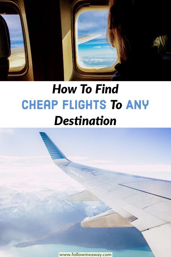 how to look for cheap flights anywhere