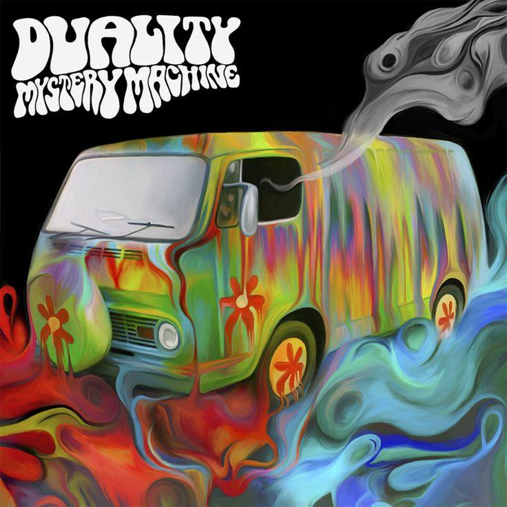 Duality - Mystery Machine album cover by NickyBarkla.deviantart.com on @deviantART