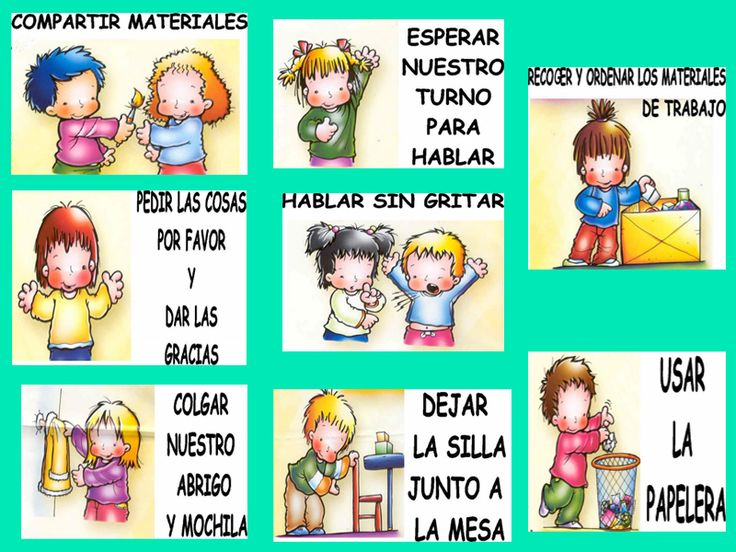 28 Best Normas Y Reglas De Clase Images On Pinterest