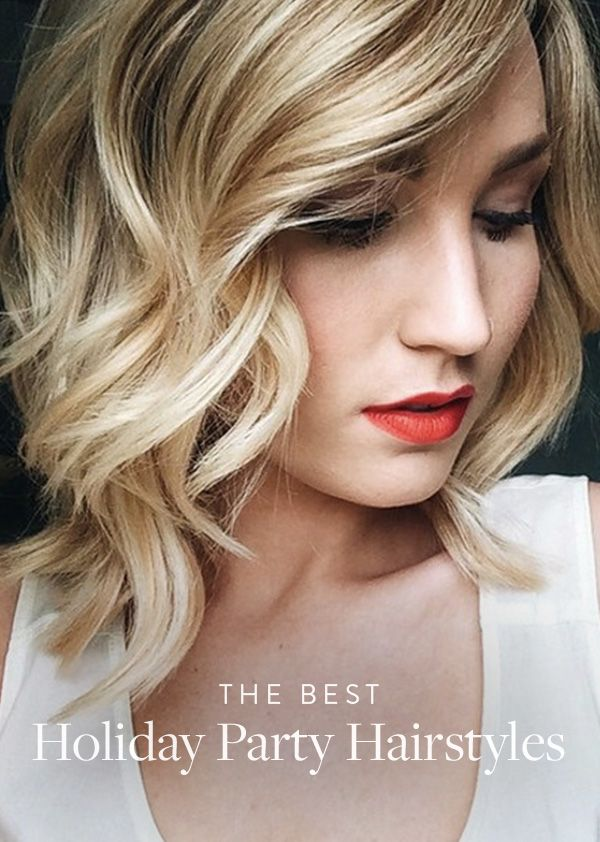 Gorgeous Hair Ideas for Holiday Party Season