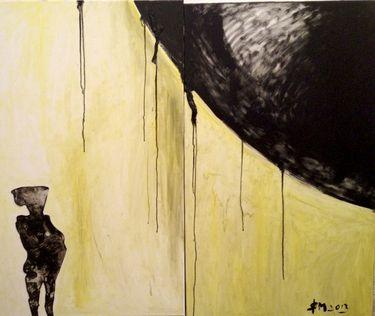 """Saatchi Art Artist Leni Smoragdova; Painting, """"64+74+98+4+6"""" #art"""