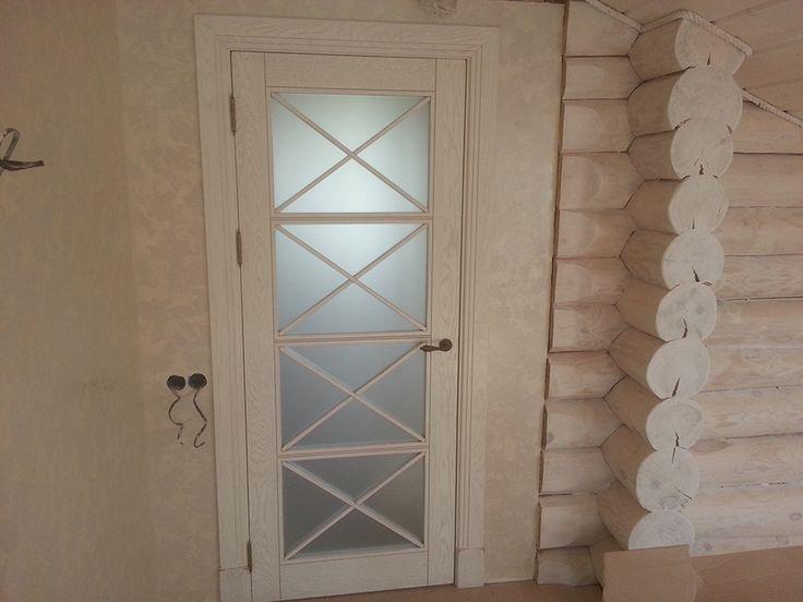 Двери из массива дуба в стиле прованс