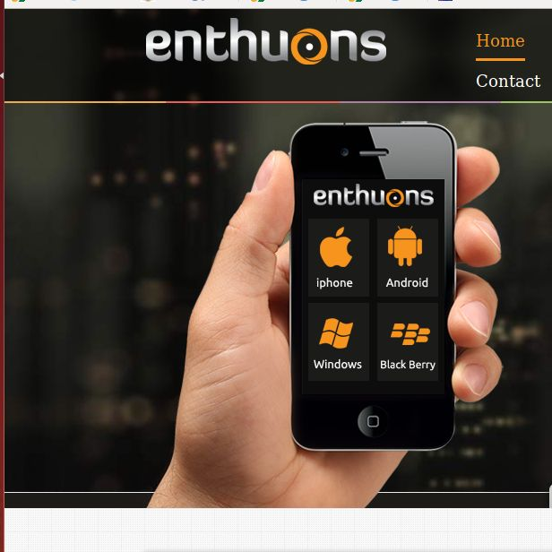 Web Development Company India - We at Enthuons is enthusiastic team of developers, designers and marketing personnel who are committed to provide best solutions in cost effective and timely manner. Web development and Web design is an expertise and specialized skill that requires great depth of knowledge and experience in order to deliver best and customer satisfactory results.