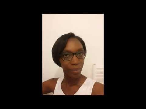 Lissage brésilien sur cheveux crépus / Brazilian Keratin Treatment afro hair - YouTube