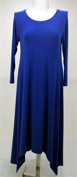 Simetri Kesim Elbise