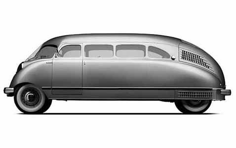 design_history: Stout Scarab :: Travelling Machine :: Rear engine V8  aluminum body