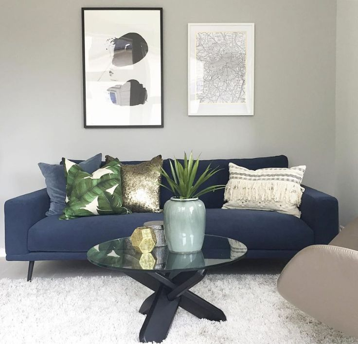 Best 25 Navy Blue Sofa Ideas On Pinterest Blue Sofa