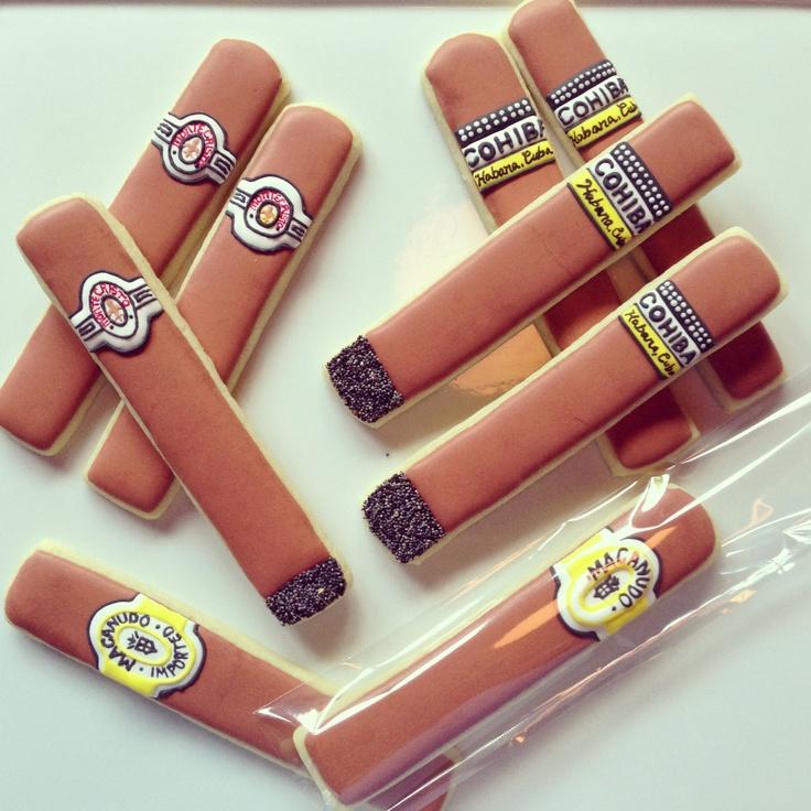 Cigar cookies!