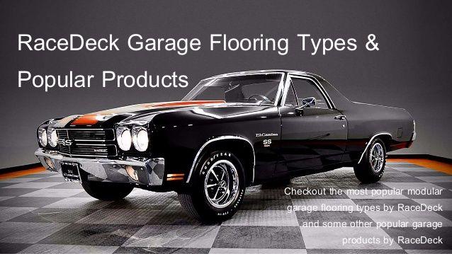 RaceDeck Garage Flooring Types - Presentation of Garage Specialties exclusive Australian distributor for RaceDeck and Snaplock.