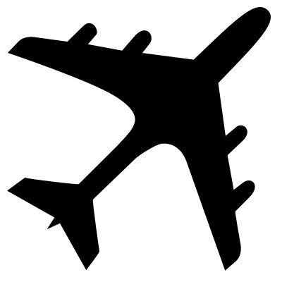 plane silhouette - Google Search