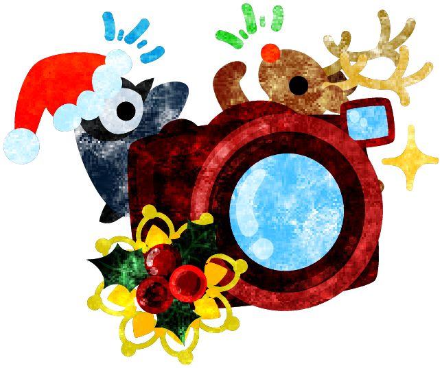 フリーのイラスト素材クリスマスの可愛いイラスト -ペンギンとトナカイとカメラ-  Free Illustration The cute illustration of Christmas -A penguin and a reindeer and a camera-   http://ift.tt/2frFY1W