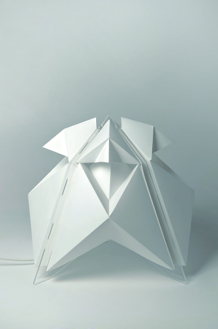 SURIA #7Rayos #Argentina #lamp #light #design #origami #popup #geometric #shape #wanteddesign #nycxdesign #nycxd