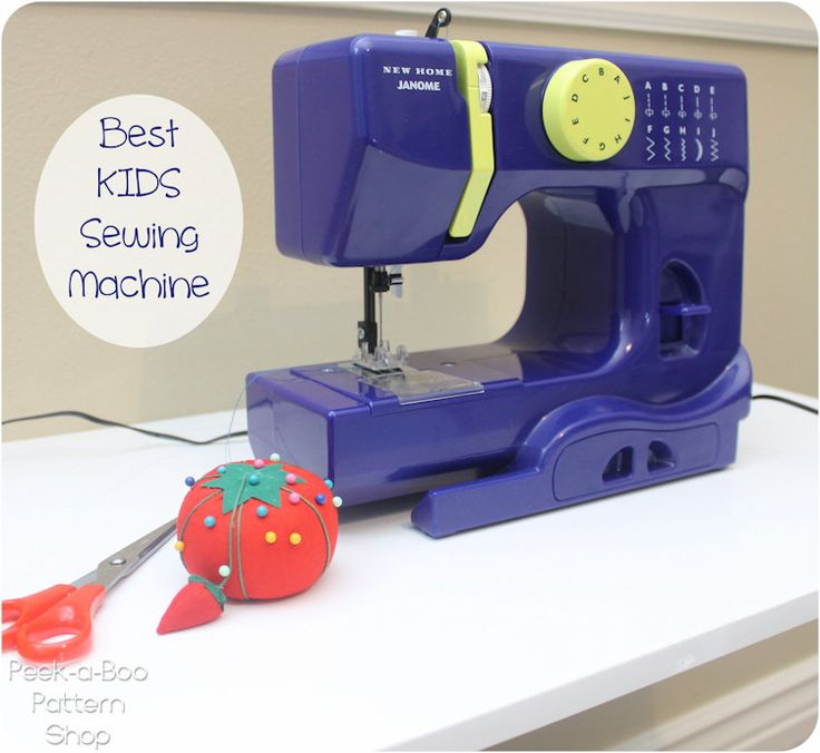 Best Kids Sewing Machine - also for beginners in general, or small apartment or dorm room dwellers.