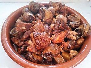 Granja de carcoles  Helix  Del  Valle: Tipica receta Cantabra