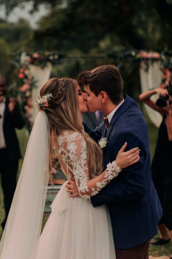 Feb 13, 2020 - [tps_header]You must make sure that you are using the hairstyle that matches your wedding dress and veil. A veil serves as the classic finishing touch to your bridal hairstyle, second to putting on your gorgeous gown....