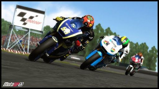 MOTO GP Free Look for more exciting motorcycle game ? Download Moto GP race ! Come and enjoy  the crazy speed of the car and the locomotive of the wild. With your friends to  test your skills together . Moto GP game is very simple, but super fun . Moto GP race features: Experience exciting and intense 3D motorcycle with our super engine driver.  Prepare soaring speed. Easily start your schedule , and master your skills step by step. Then unlock  cooler racing challeng...