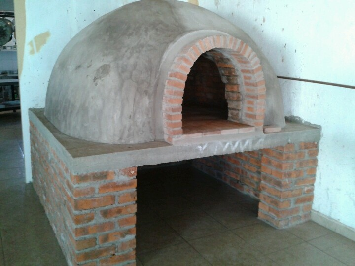Horno para pizza inspiraci n en el dise o pinterest oven cooking yard ideas and oven - Horno pizza casa ...