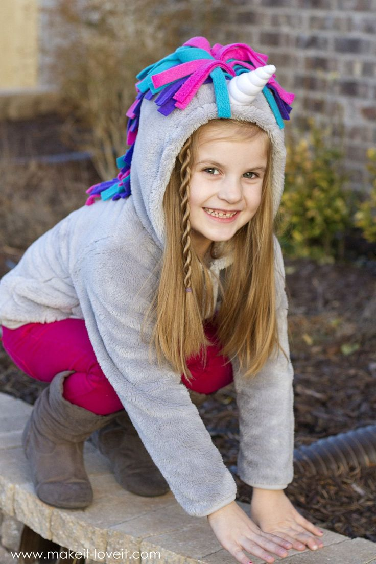 Make a UNICORN HOODIE...in 30 minutes! | Make It and Love It