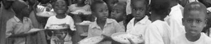 Feeding the children in Haiti
