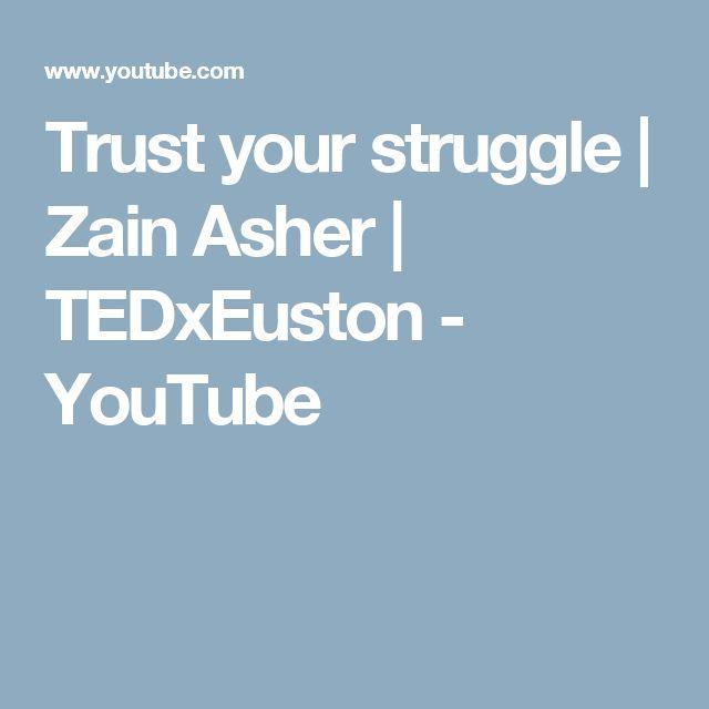 Trust your struggle | Zain Asher | TEDxEuston - YouTube