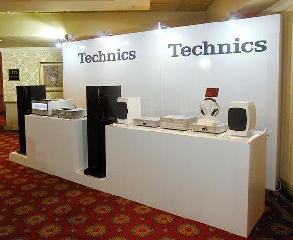 Panasonic Launch 2015 - Technics display wall.