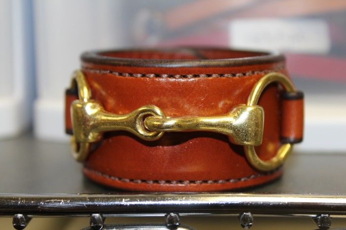 We love this Bit Bracelet from Rebecca Ray! An awesome gift for the equestrian in your life...Or just someone who likes neat stuff. $69