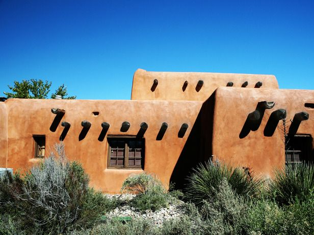 Santa Fe-Style Homes : Decorating : HGTV