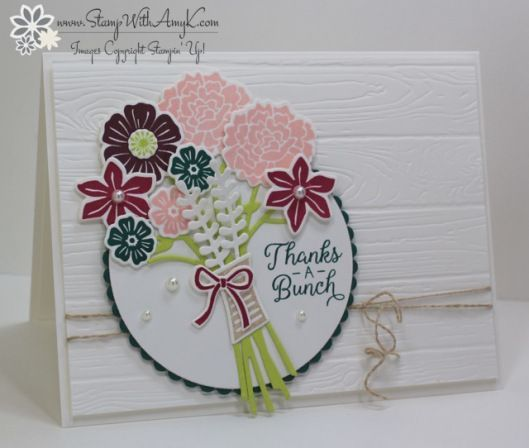 Stampin' Up! Beautiful Bouquet for Fab Friday
