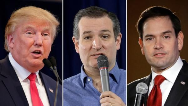 The South Carolina Republican primary appears to be a three-person race between Donald Trump, Ted Cruz and Marco Rubio, based on exit poll data. ABC News has not projected a winner yet.Texas Sen. Ted Cruz won the Republican Iowa caucuses, the first contest of the 2016 presidential race, and Donald Trump won the New Hampshire Republican primary. ...