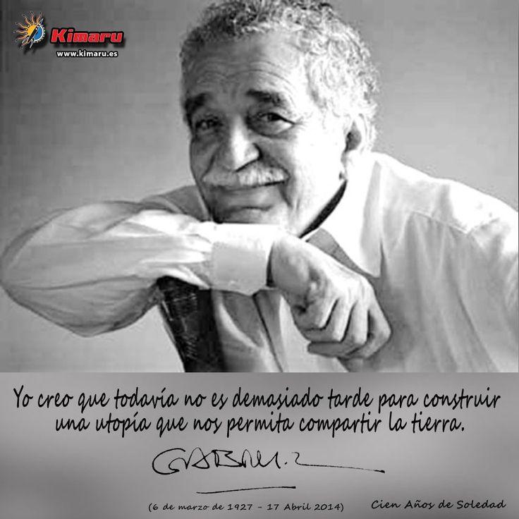 Gabriel Garcia Marquez Descanse en Paz