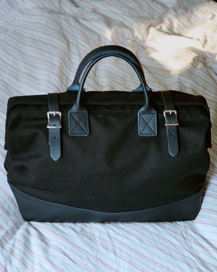 "Hand-Eye Supply • 16"" Canvas Tool Bag Black"