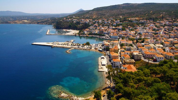 #Pylos bay and town in #Greece, source: romanoscostanavarino www.house2book.com