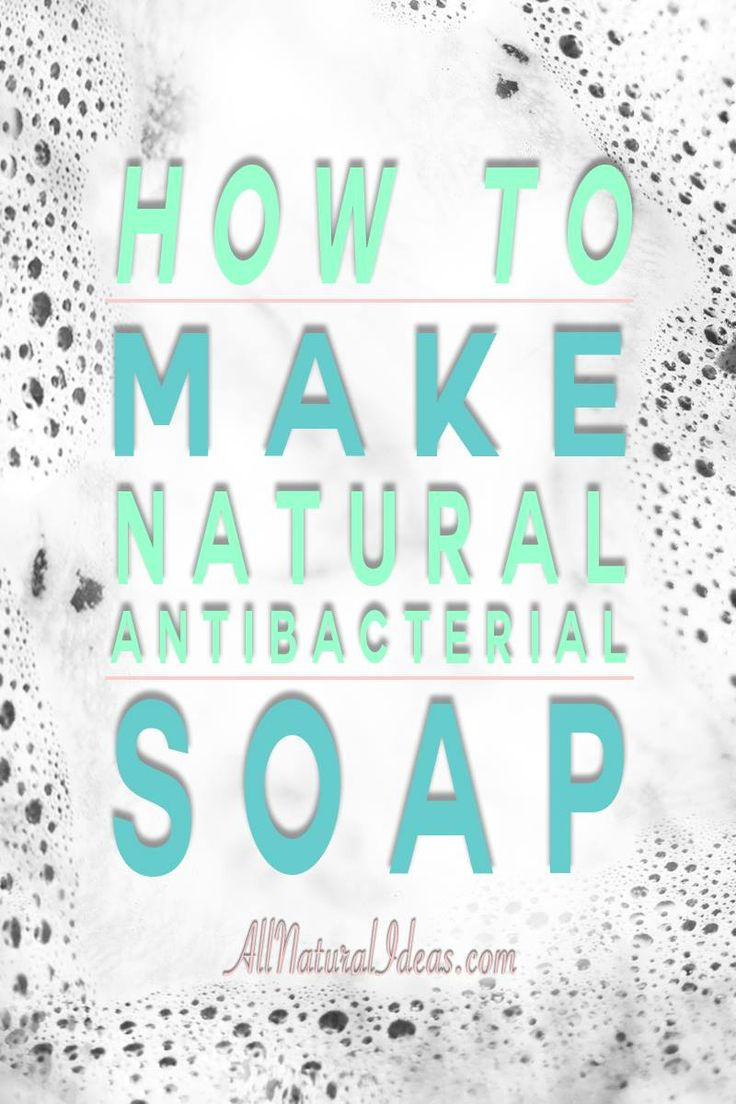 With essential oils, you can make your own all natural antibacterial soap. You'll want to keep this foaming hand soap for every sink in your house!